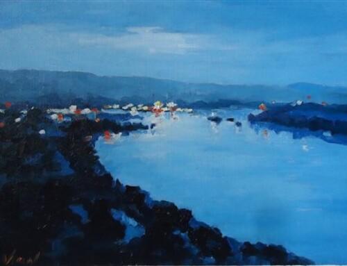 風景画を油絵で描写する基本と工夫