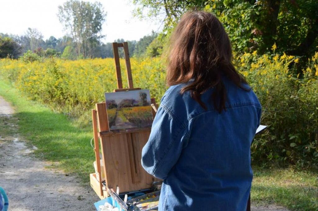 画家見習い