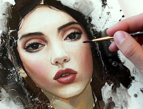 油絵絵画の技法