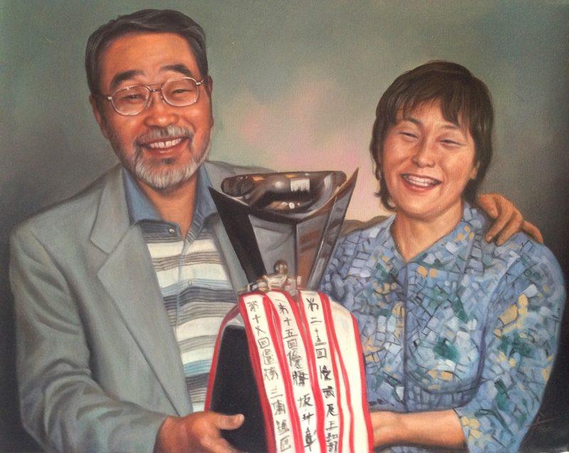 記念日の肖像画