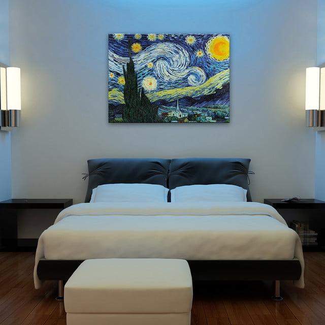 寝室のインテリアアート