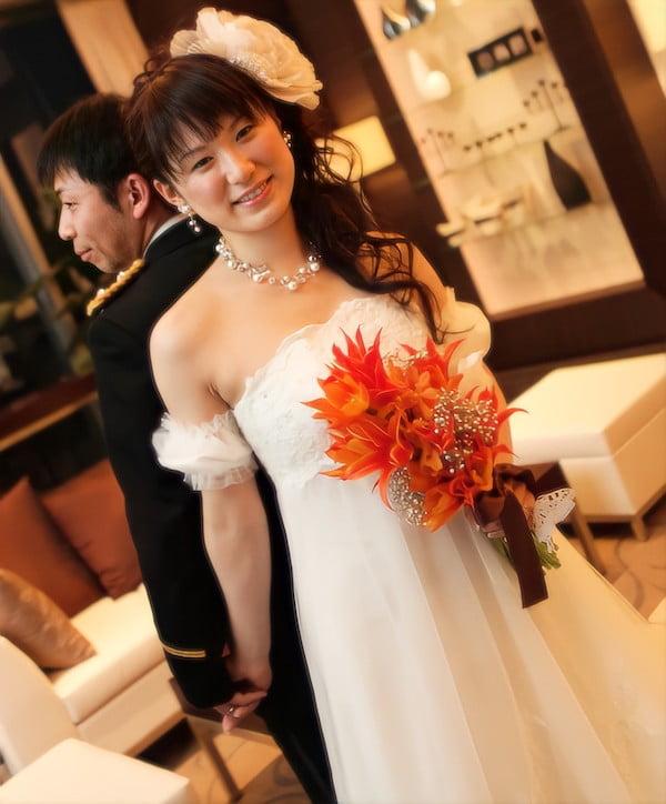 結婚カップル写真